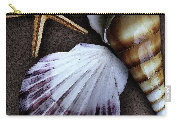 Seashells Spectacular No 37 Carry-all Pouch