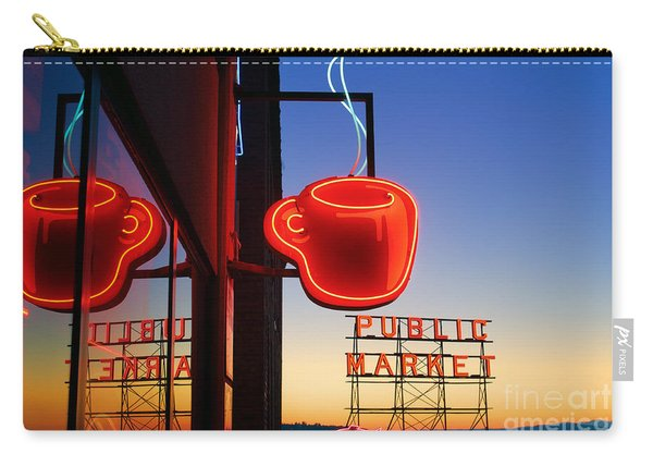 Seattle Coffee Carry-all Pouch