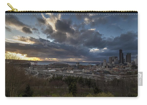 Seattle Dramatic Dusk Carry-all Pouch