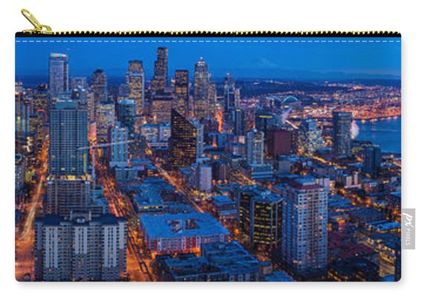 Seattle Skyline From The Space Needle Carry-all Pouch