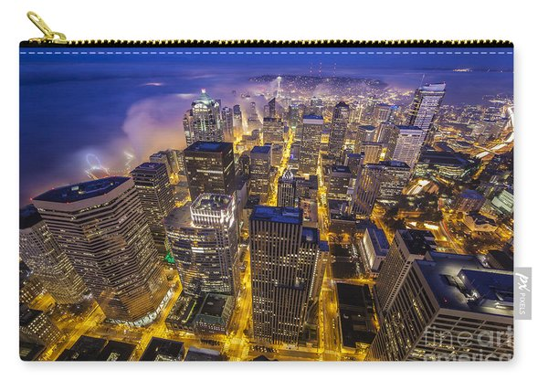 Seattle Sunrise Fog Carry-all Pouch
