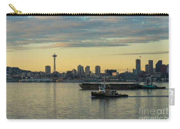 Seattles Working Harbor Carry-all Pouch