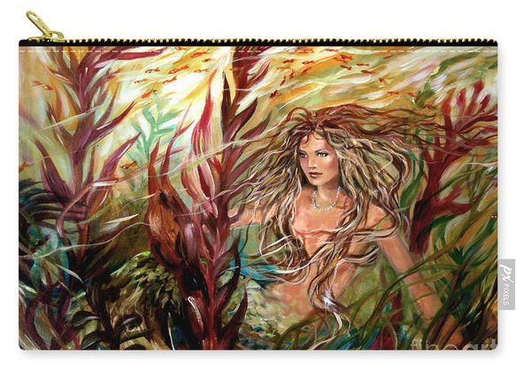 Seaweed Mermaid Carry-all Pouch