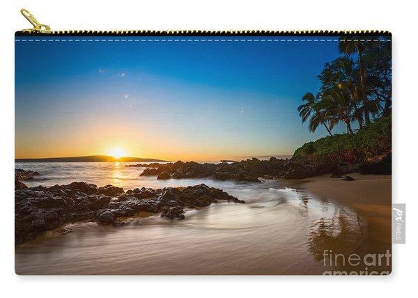 Secret Beach Sunset Carry-all Pouch
