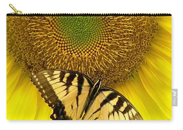 Secret Lives Of Sunflowers Carry-all Pouch