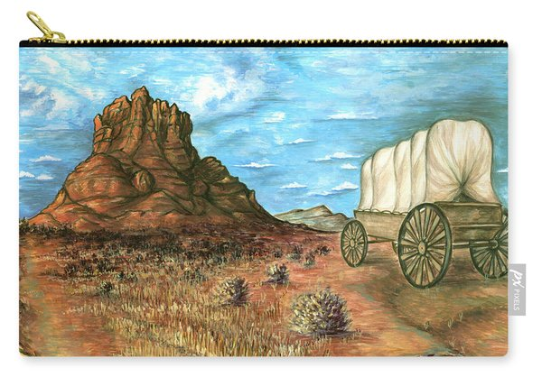 Sedona Arizona - Western Art Painting Carry-all Pouch
