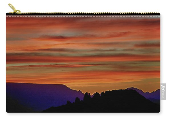 Sedona Az Sunset 2 Carry-all Pouch