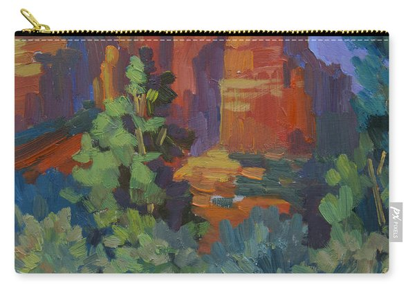 Sedona Coffee Pot Rock Carry-all Pouch