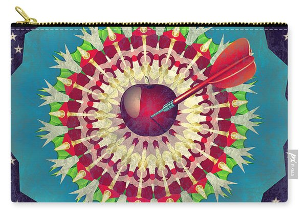 Carry-all Pouch featuring the digital art Seduction  by Eleni Mac Synodinos