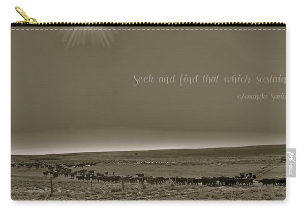 Seek And Find Carry-all Pouch