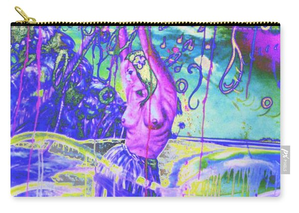 Sensual Dance In Mauve Carry-all Pouch