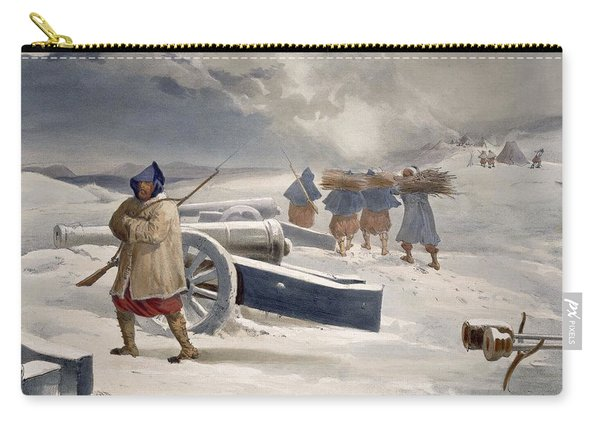 Sentinel Of The Zouaves, Plate From The Carry-all Pouch