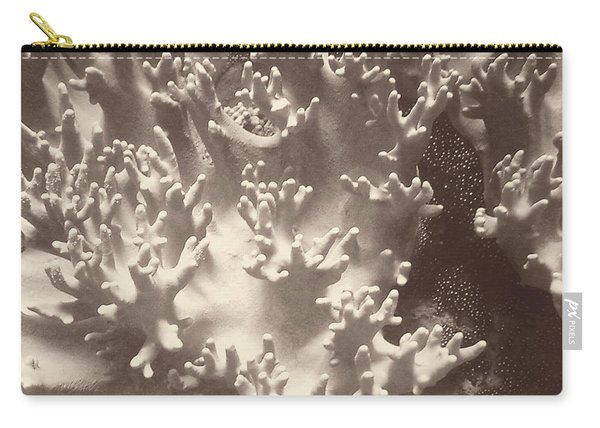 Sepia Barrier Reef Coral I Carry-all Pouch