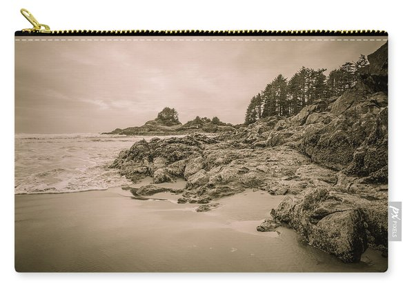 Cox Bay Sepia Carry-all Pouch