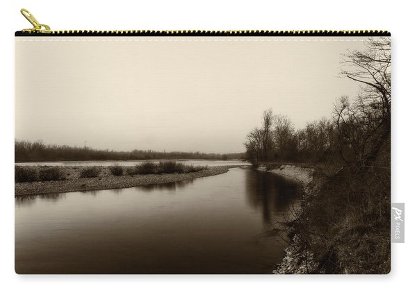Sepia River Carry-all Pouch