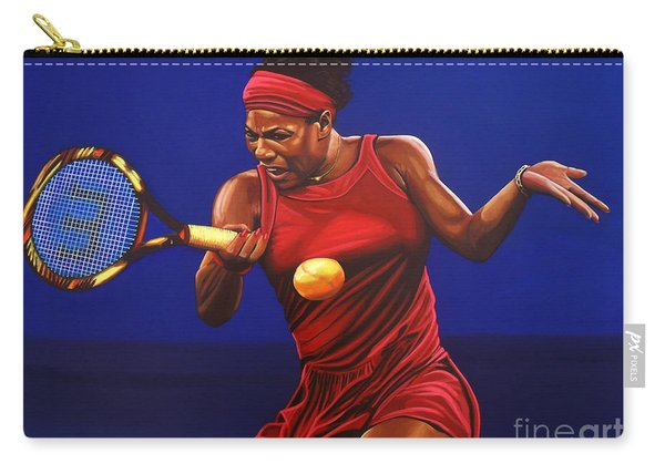 Serena Williams Painting Carry-all Pouch