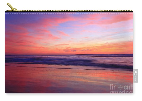 Serene Oceanside Glow Carry-all Pouch