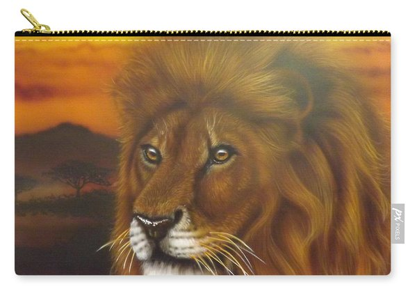 Serengeti King Carry-all Pouch