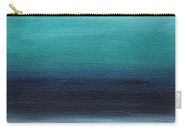Serenity- Abstract Landscape Carry-all Pouch