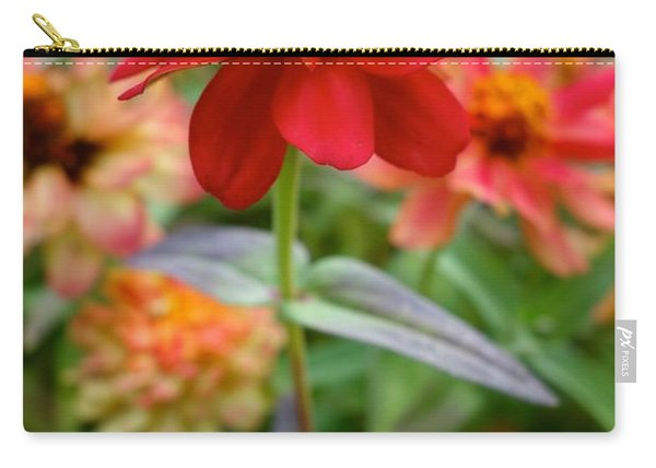Serenity In Red Carry-all Pouch