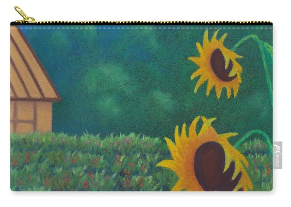Sergi's Sunflowers Carry-all Pouch