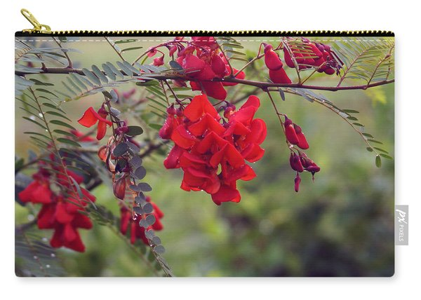 Sesbania Punicea Carry-all Pouch