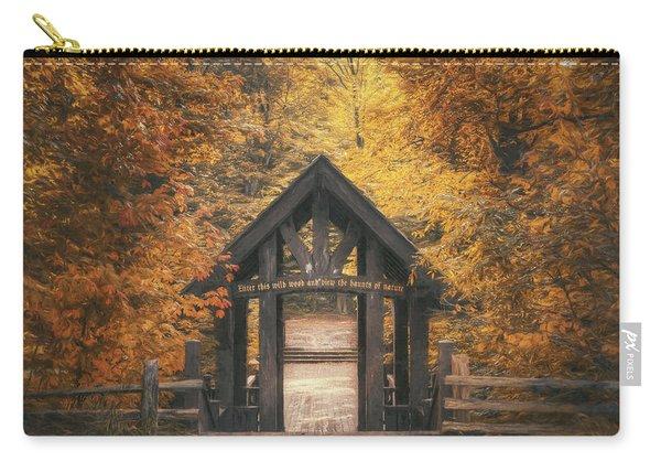 Seven Bridges Trail Head Carry-all Pouch