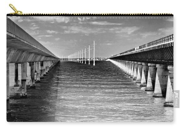 seven mile bridge BW Carry-all Pouch