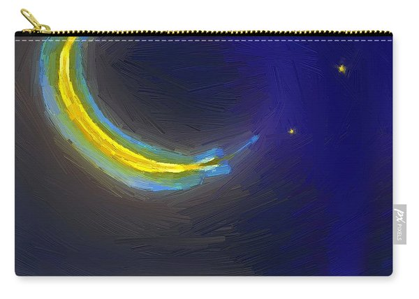 Seven Stars And The Moon Carry-all Pouch