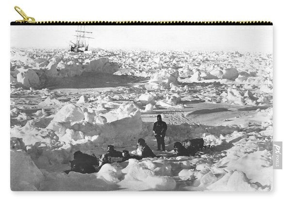 Shackleton's Antarctic Venture Carry-all Pouch