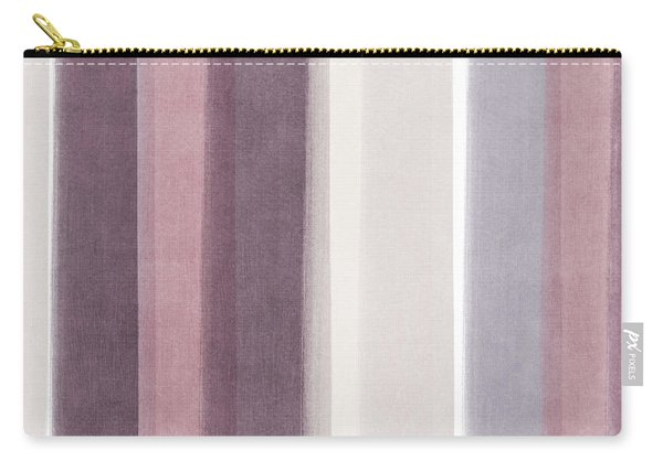 Shades Of Purple- Contemporary Abstract Painting Carry-all Pouch