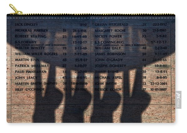 Shadow Of The Fishermens Memorial Carry-all Pouch