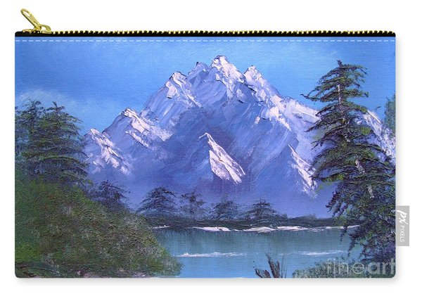 Shadowed Mountain Lake Carry-all Pouch