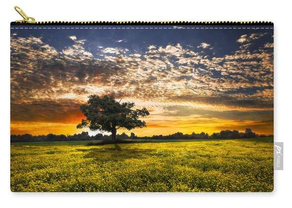 Shadows At Sunset Carry-all Pouch