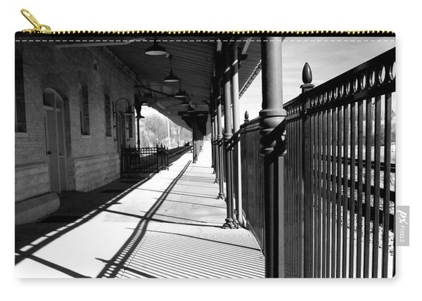 Shadows At The Station Carry-all Pouch