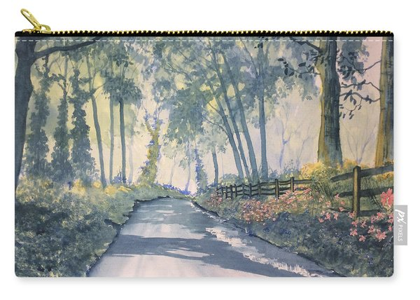 Shadows On The Setterington Road Carry-all Pouch