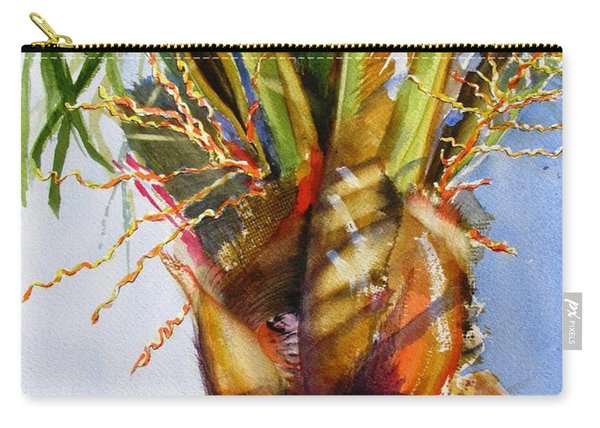 Shady Palm Tree Carry-all Pouch