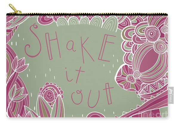 Shake It Out Carry-all Pouch