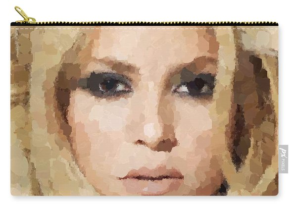 Shakira Portrait Carry-all Pouch