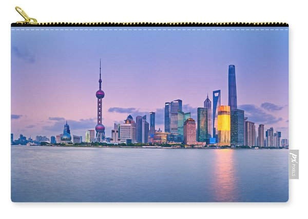Shanghai Pudong Skyline  Carry-all Pouch