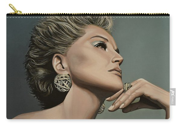 Sharon Stone Carry-all Pouch