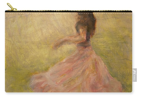 She Dances With The Rain Carry-all Pouch