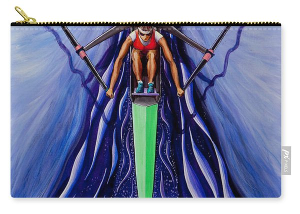 She Scull By O4rsom. Rowing Sport Of Champions Carry-all Pouch