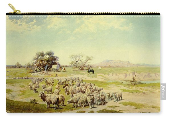 Sheepherding Montana Carry-all Pouch