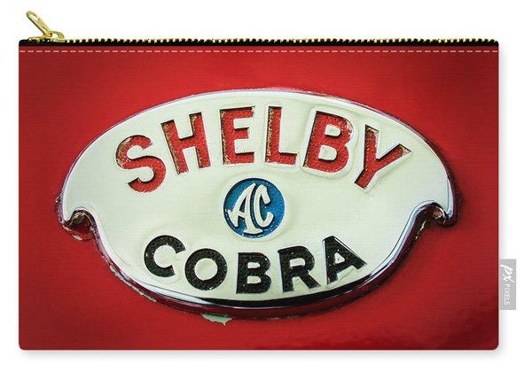 Shelby Ac Cobra Emblem -0282c Carry-all Pouch