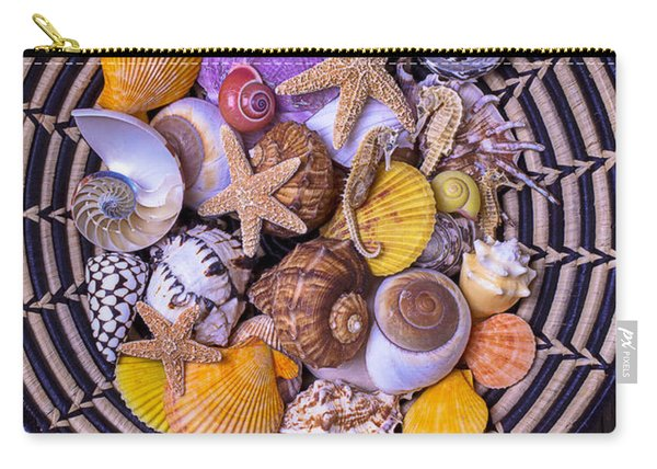 Shell Collecting Carry-all Pouch