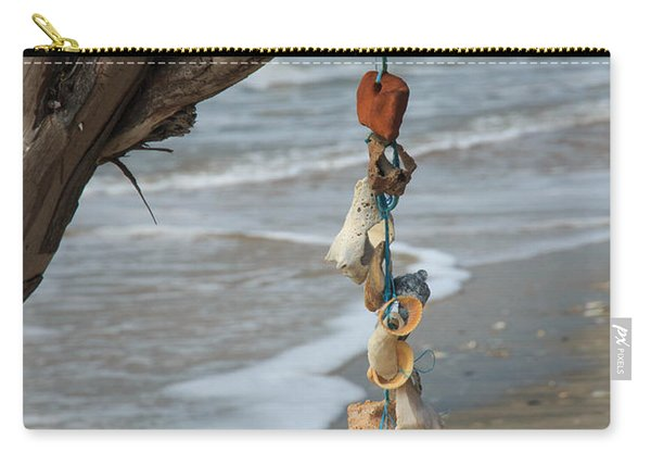 Shells On A String Carry-all Pouch