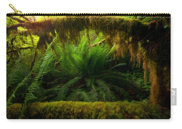 Sheltered Fern Carry-all Pouch