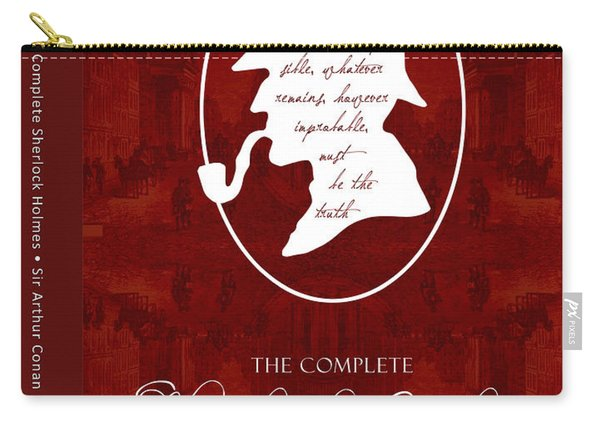Sherlock Holmes Book Cover Poster Art 1 Carry-all Pouch