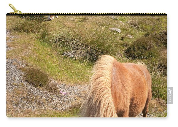 Shetland Ponies Carry-all Pouch